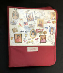 The American Girls Collection Red 3-Ring Binder with Inserts