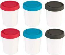 New listing StarPack Premium Mini Ice Cream Freezer Storage Containers - Set of 6.