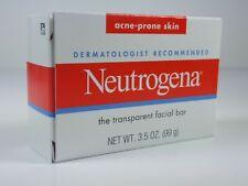 Neutrogena Transparent Facial Bar, Acne-Prone Skin Formula Soap - 3.5 oz.