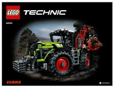 LEGO INSTRUCTIONS for Technic CLAAS XERION 5000 TRAC VC TRACTOR # 42054  NEW