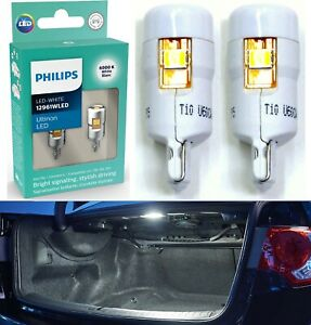 Philips Ultinon LED Light 12961 194 White Two Bulb Trunk Cargo Replacement OE