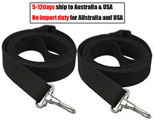"2 Adjustable 96""Bimini Boat Top Strap with Loops and Hook Bimini Awning Straps"
