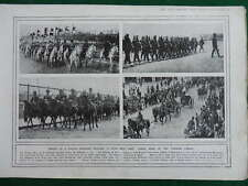 1914 TURKISH TROOPS  - A POWER GERMANY PUSHED INTO WAR WW1