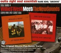 Willie & West Meet The New Sounds - At Their Best / Having You Around CD NEW