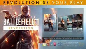 Battlefield 1 Revolution (COMPLETE) Edition Origin Key (PC) - REGION FREE -
