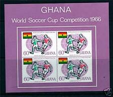 Ghana 1966 World Cup Football M.S.SG 434 MNH