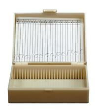 Plastic Slide Storage Box Up to 25 Microscope Slides