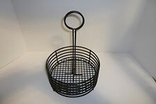 TABLETOP CONDIMENT CADDY WITH SIGN HOLDER- BLACK  BRAND NEW