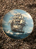 Charles Vickery The Golden Age of Clipper Ships Plate ~ Twilight Under Full Sail