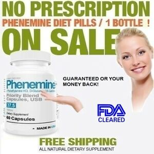 Phenemine Best Weight Loss Slimming Appetite Suppressant Diet Pills Adipex 37.5