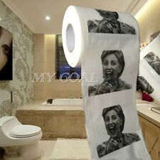 Hillary Clinton Toilet Paper Tissue Roll Presidential Novelty Funny Gag Gift