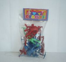 Mexican Workers Package - Figures Plastic - Toy Made In Mexico Bootleg