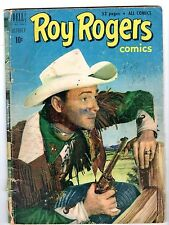 Roy Rogers #46 - Autographed in Pencil on Front Cover, Good Condition