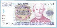 Argentina - 5,000 Pesos Argentinos - ND (1984-85) - WPM# 318a