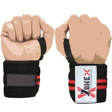 Wrist Heavy duty weight lifting body building wrist wraps power training strap R