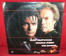 Laserdisc B * The Rookie * Clint Eastwood Charlie Sheen Raul Julia Widescreen