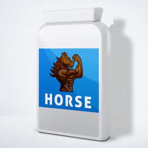 HORSE - MALE ENHANCEMENT PENIS ENLARGEMENT PILLS - 90 PILLS