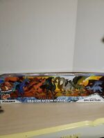 Kid Galaxy Poseable Dragons Action 6-Pack Brand New