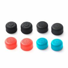 4 Pairs Silicone Caps Thumb Grip Thumbstick Cover for Nintendo Switch Joy-con