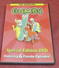 The Original Gumby Special Edition DVD featuring 6 episodes Kid Rhino/Warner