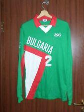 MATCH WORN! #2 STEFANOVA BULGARIA VOLLEYBALL 1990's Jersey Shirt ASICS size M/L