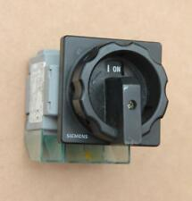 Siemens 3LD2-103-1TL51 frontal montado Control Interruptor #S809