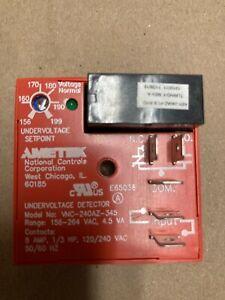 Ametek NCC VNC-240AZ-345 Undervoltage Relay