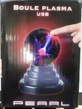 Plasmalampe mit USB-Anschluss, Plasmakugel, Originelle Lampe