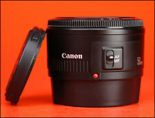 Canon EF 50mm F1.8 MK II Autofocus Prime Lens - Sold with Front & Rear Lens Cap.