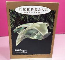 1995 Star Trek Next Generation Romulan Warbird Hallmark Keepsake Orn* New
