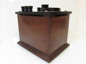 Vintage LEEDS & NORTHRUP A.C. GALVANOMETER No. 2370 Electric Current Instrument
