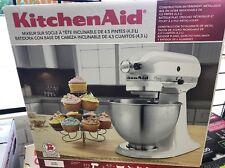 KitchenAid K45SSWH Classic 4.5 QT. Tilt-head Stand Mixer - White