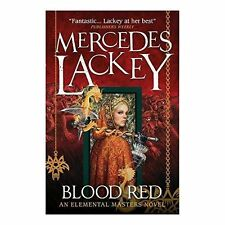 Blood Red (Elemental Masters), New, Mercedes Lackey Book