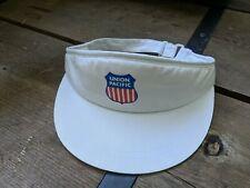 Union Pacific Sun Visor Hat Cap White Shield