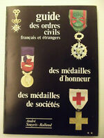 GUIDE ORDRES CIVILS MEDAILLES D'HONNEUR DE SOCIETES-n° 415/2000