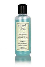 Khadi Aloevera Face Wash with Scrub (SLS & PARABEN FREE) - 210ml