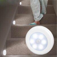 Infrared PIR Motion Sensor 6 Led Night Light Wireless Detector Light Wall Lamp