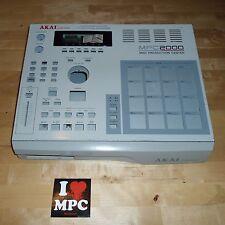 Akai MPC 2000 Complete Metal Casing w/Front Plastic Panel SET