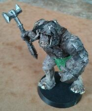 Warhammer Games Workshop LOTR Mordor Troll Metal Miniature Based & Well Painted
