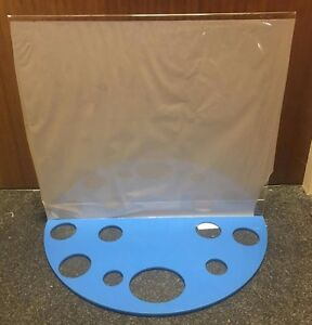 Acrylic Perspex Retail/Shop Product Display Stand *8 Various Product Holes* NEW