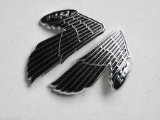 Pair HONDA 90 CL90 S90 Z S90Z K1 TS50 DX CL70 Gas Fuel Tank Emblem Badge Coating