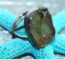D7067 Season Sale Beer Quartz Black Rhodium Plated Adjustable Ring Jewelry