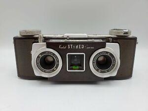 Vintage Kodak Stereo 35mm Film Camera with f3.5 Anaston Lenses
