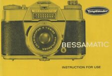 Voigtlander Bessamatic Deluxe Instruction Manual
