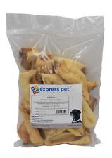 Lamb Ears Dried Hypoallergenic Dog Treat Chew Low Fat/Odour