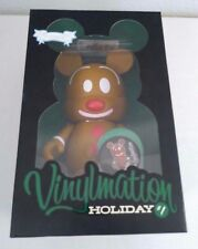 """Disney Vinylmation #1 Holiday Mickey Christmas Gingerbread LE 800 9"""" large"""