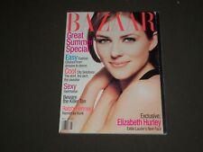 1995 MAY HARPER'S BAZAAR MAGAZINE - ELIZABETH HURLEY COVER - SP 4533