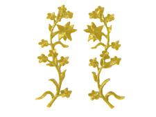1 Paar Lurex Gold Applikationen Patch Medieval?Mittelalter? ArtNr:18-1G