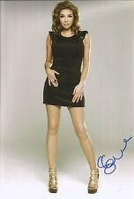 Shobna Gulati Signed 12x8 Photo AFTAL