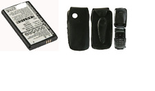 Leather Flip Case Samsung S5510T, S5511T with Belt Clip and Battery